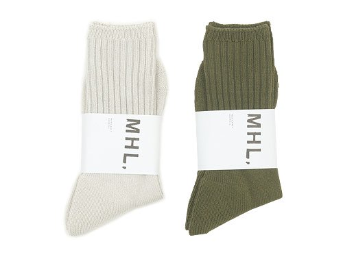 MHL. MILITARY SOCKS 〔メンズ〕