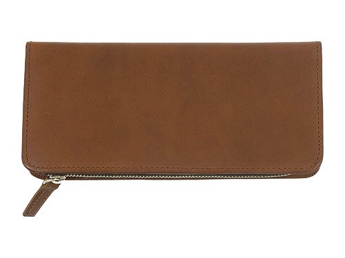 MARGARET HOWELL x PORTER OIL LEATHER LONG WALLET 050BROWN