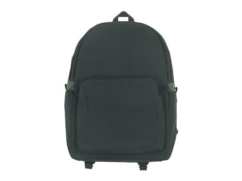 MARGARET HOWELL x PORTER PVC LIGHT COTTON CANVAS BACKPACK 023CHARCOAL