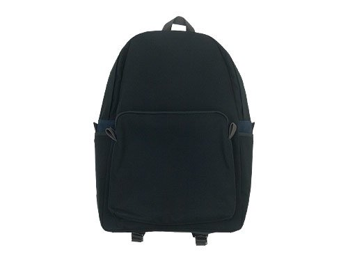 MARGARET HOWELL x PORTER PVC LIGHT COTTON CANVAS BACKPACK 010BLACK