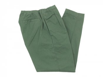 maillot mature drawstring tuck pants OLIVE