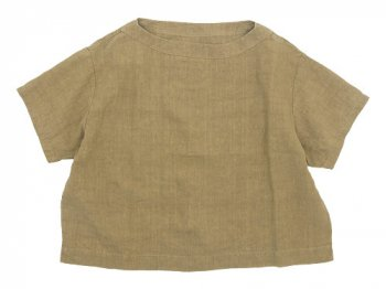 Atelier d'antan Taut(タウト) Half Sleeve Pullover BEIGE