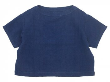 Lin francais d'antan Taut(タウト) Half Sleeve Pullover NAVY