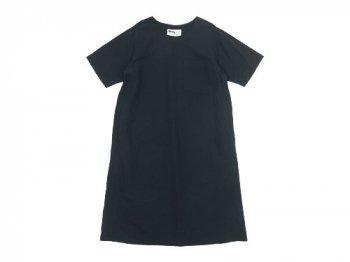 MHL. PLAIN COTTON LINEN PULLOVER DRESS 〔レディース〕