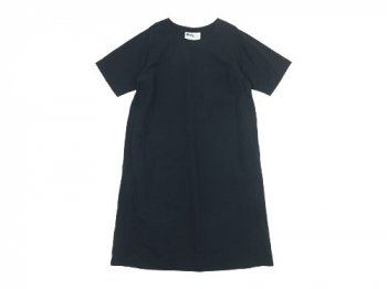 MHL. PLAIN COTTON LINEN PULLOVER DRESS 121NAVY 〔レディース〕