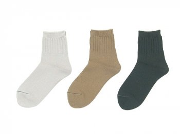 MHL. ROUGH COTTON SHORT SOCKS 〔レディース〕