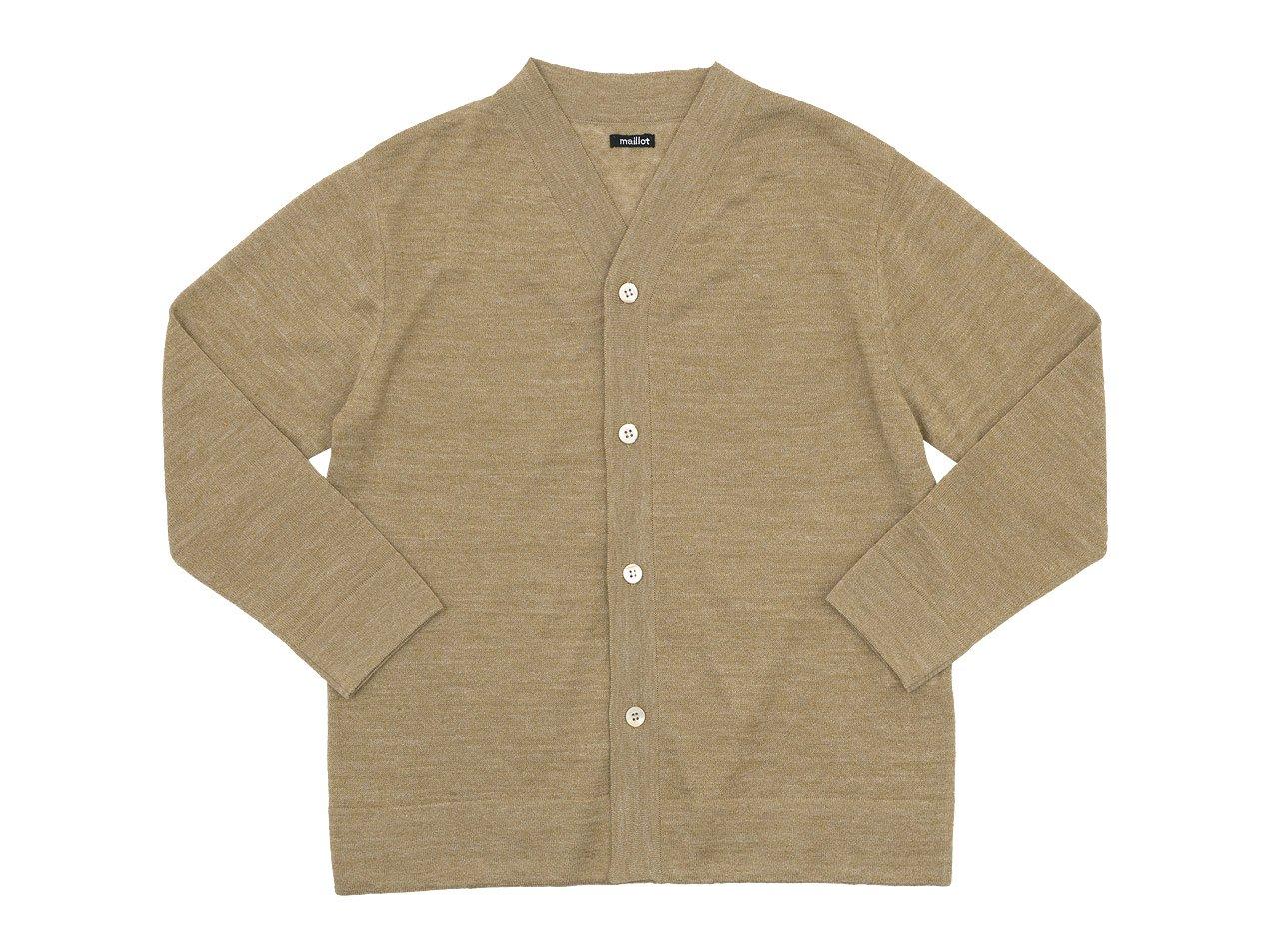 maillot mature linen summer cardigan BEIGE