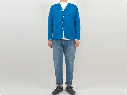 maillot mature summer cardigan BLUE