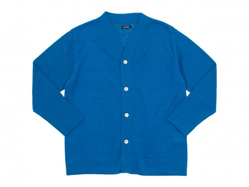 maillot mature summer cardigan BLUE