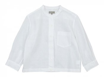 MARGARET HOWELL SHIRTING LINEN I NO COLLAR SHIRTS 〔レディース〕