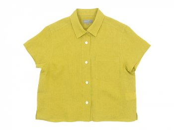 MARGARET HOWELL LINEN VOILE SMALL SHIRTS 060CITRUS〔レディース〕