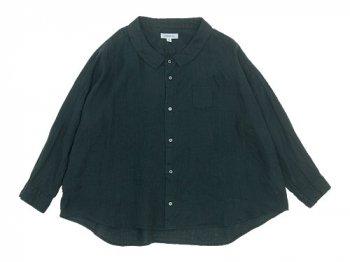 ordinary fits BARBER SHIRT BLACK