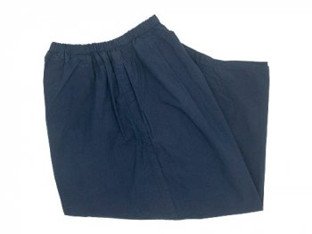 ordinary fits ball pants cotton silk NAVY