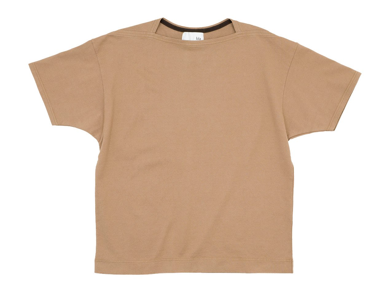 blanc Short Sleeve Living Work Tee BEIGE