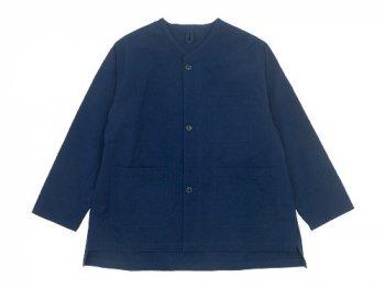 blanc needle work jacket NAVY