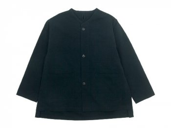 blanc needle work jacket BLACK