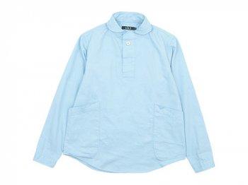 LOLO コットンプルオーバーシャツ LIGHT BLUE