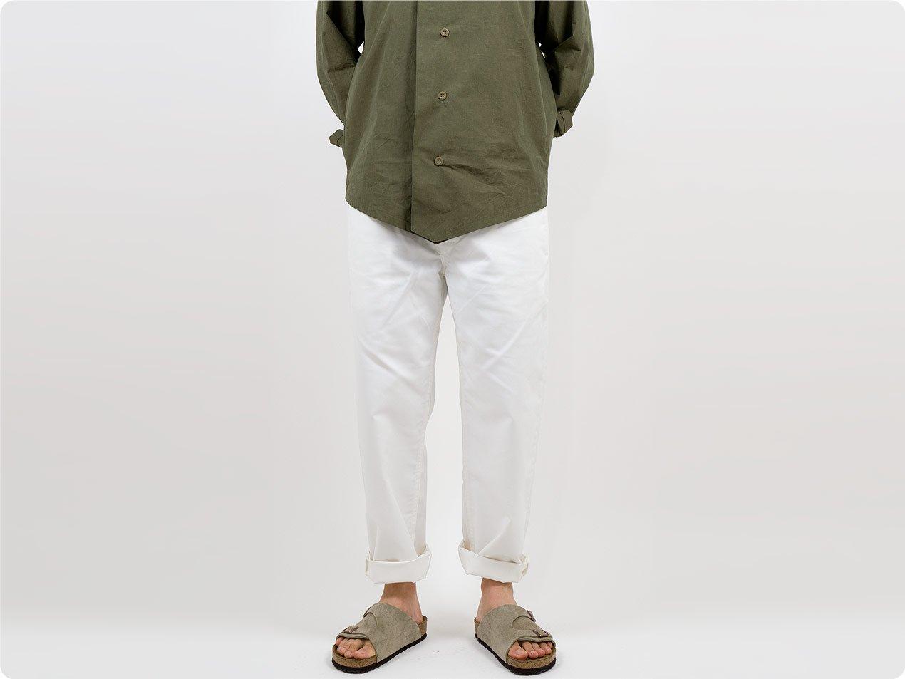 Charpentier de Vaisseau Bradley Easy Pants WHITE