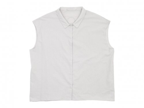 Lin francais d'antan Stuck(シュトゥック) No Sleeve Shirts LIGHT GRAY