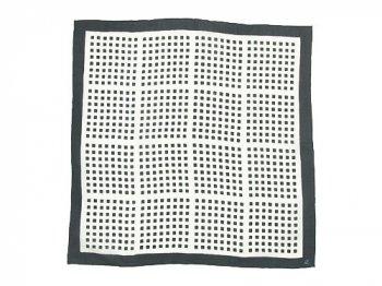 Atelier d'antan Rothko(ロスコ) Silk Scarf 【四角】