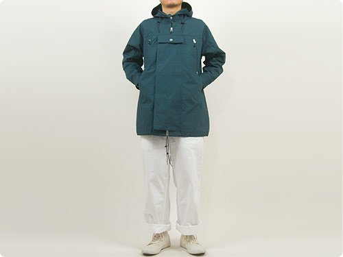 ENDS and MEANS Field Half Coat DARK NAVY