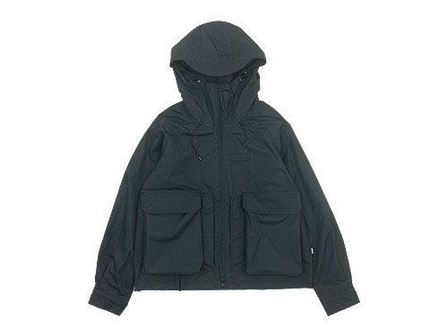 ENDS and MEANS Haggerston Parka BLACK