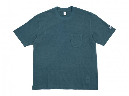 ENDS and MEANS Pocket Tee NAVY GREEN