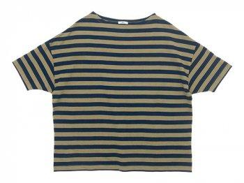 maillot border drop shoulder S/S T-shirt
