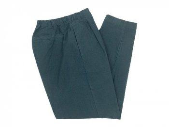 maillot mature rub cotton drawstring pants INK BLACK