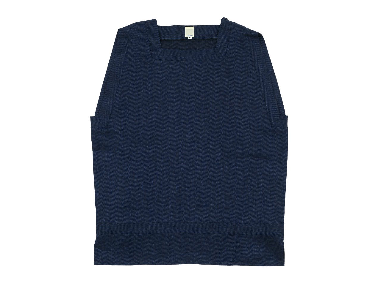TATAMIZE SQUARE VEST NAVY