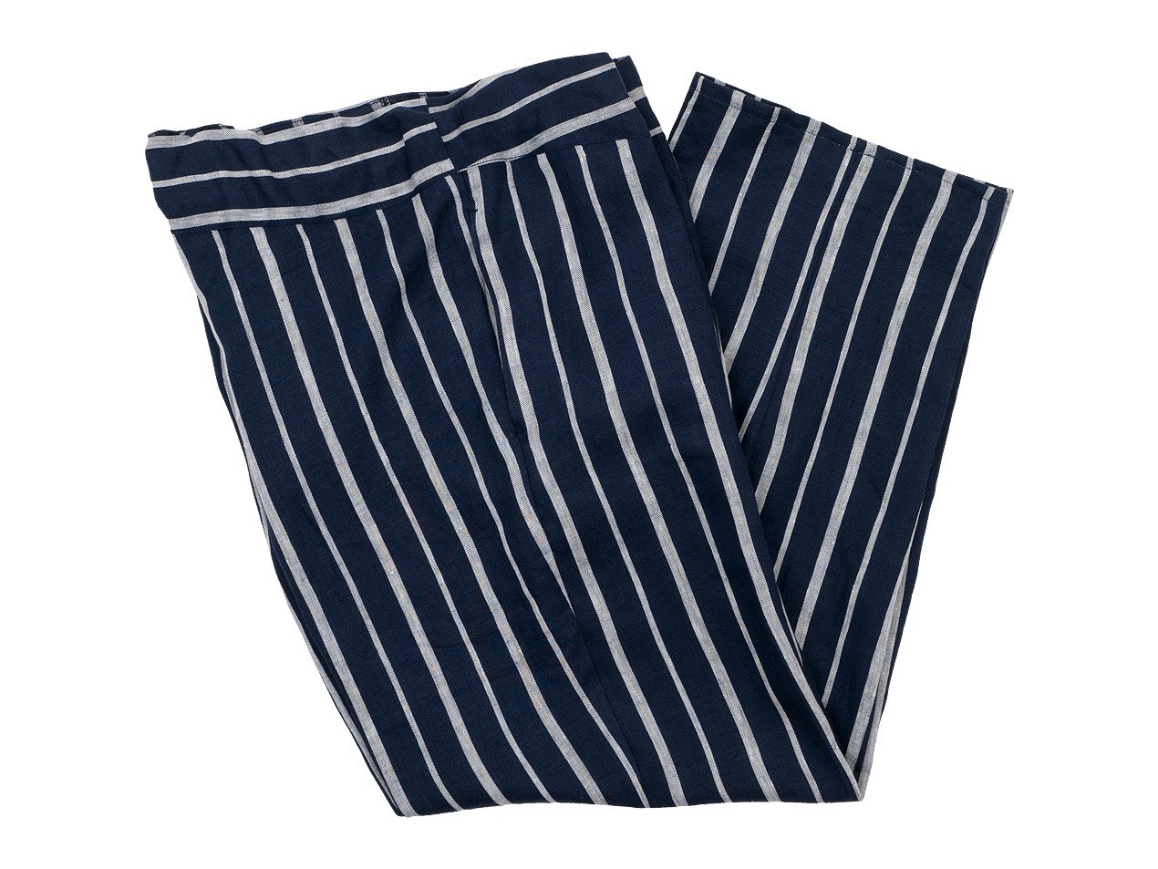【別注】 TATAMIZE ROOM PANTS NAVY STRIPE