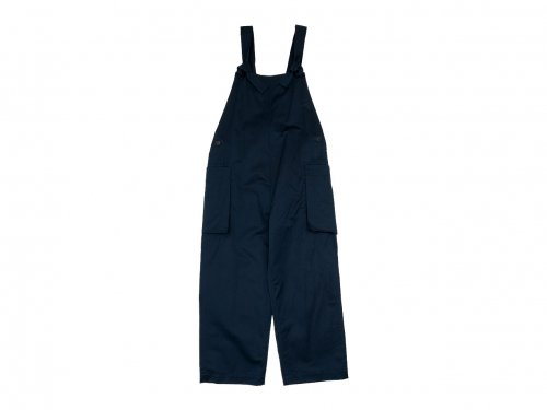 TOUJOURS Classic Overalls NAVY