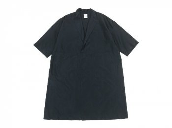 TOUJOURS Side Seam Vents Light Coat BLACK NAVY 【VM30FC05】