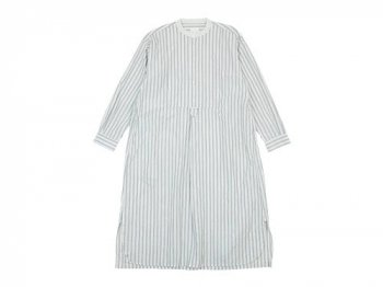 TOUJOURS Big Bosom Shirt Dress STRIPE 【TM30GD03】