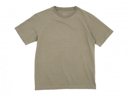 TOUJOURS Big T-shirt TOBACCO 【LM30XC06】