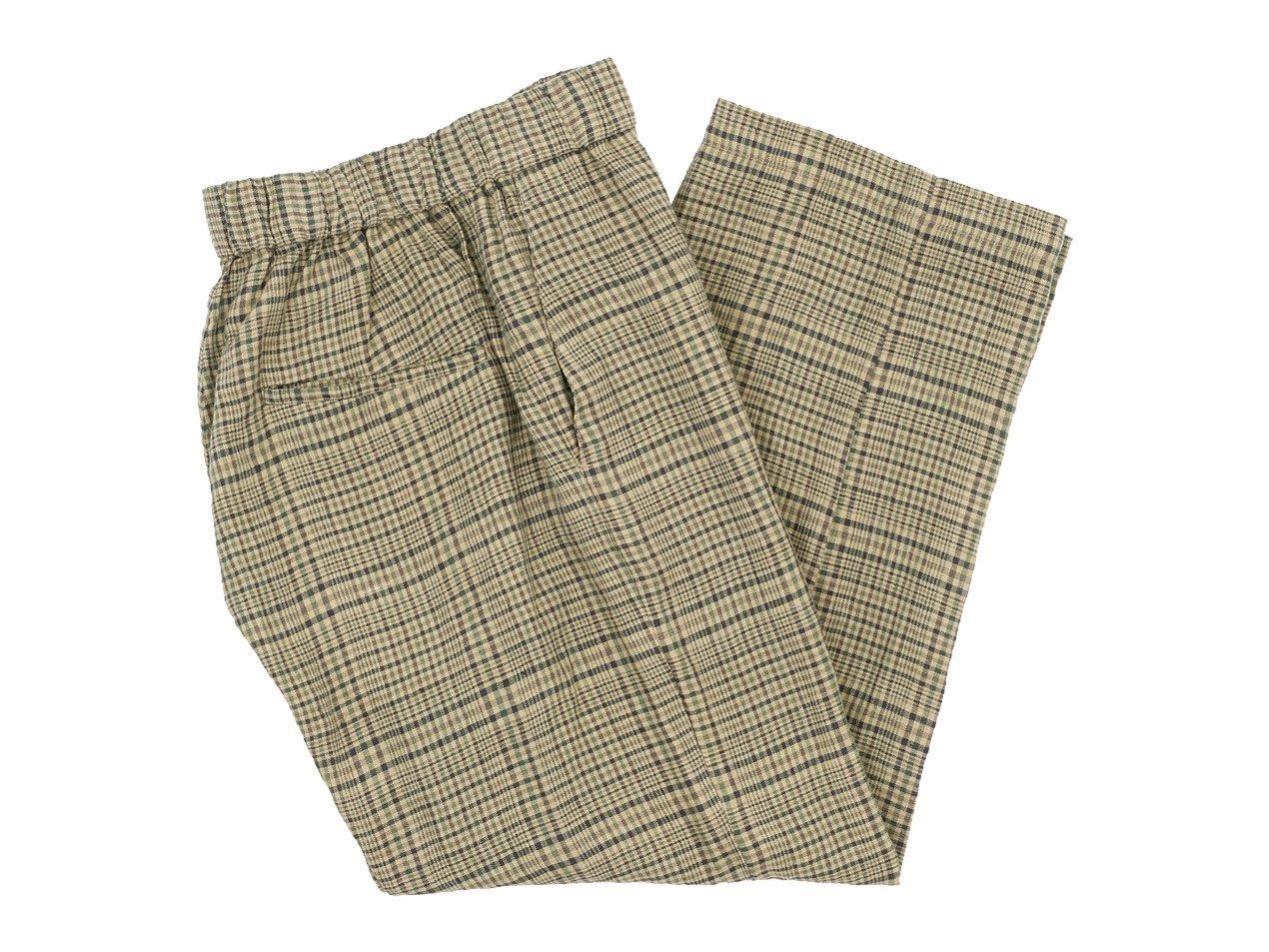 TOUJOURS Easy Trousers CAMEL 【KM30JP03】