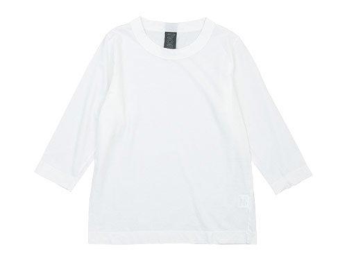 homspun 30/1天竺 七分袖Tシャツ サラシ