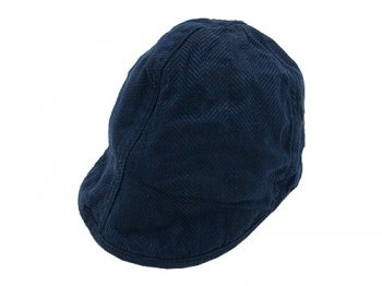 TATAMIZE WORK CAP NAVY LINEN