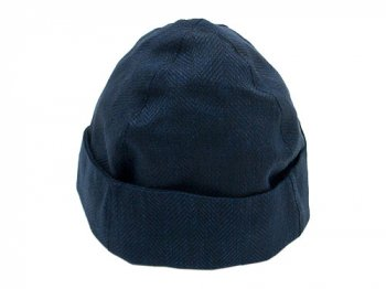 TATAMIZE BOWL CAP NAVY LINEN HB