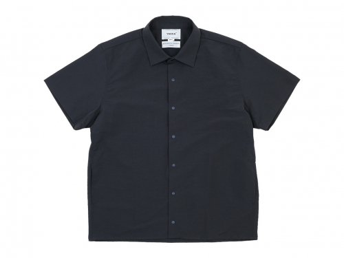 YAECA コンフォートシャツ 半袖 DARK NAVY 〔メンズ〕