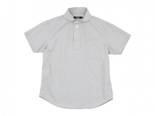 LOLO コットン半袖 プルオーバーシャツ