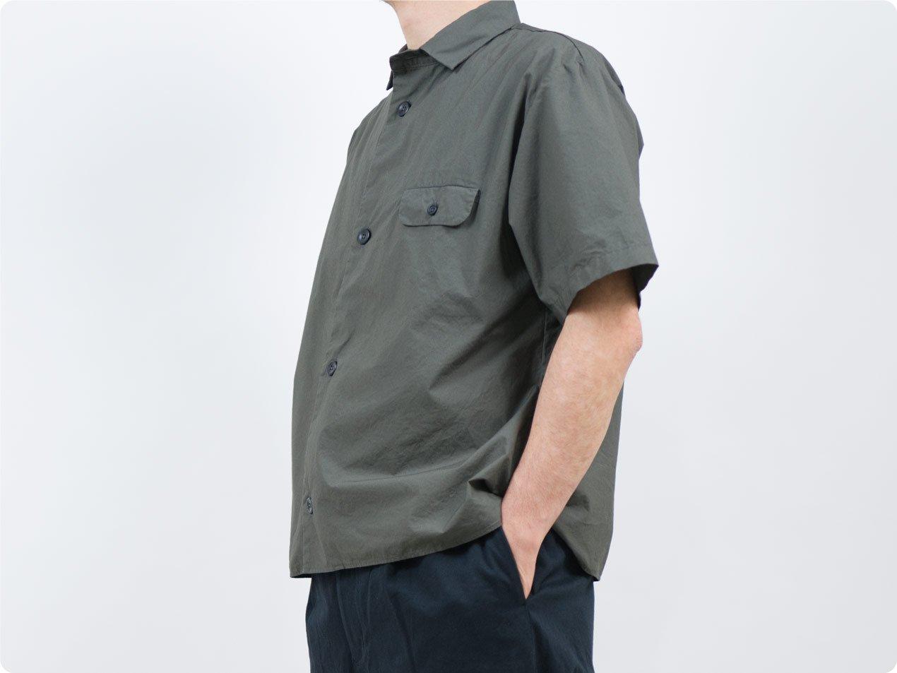 LOLO ステッチなし半袖シャツ CHARCOAL