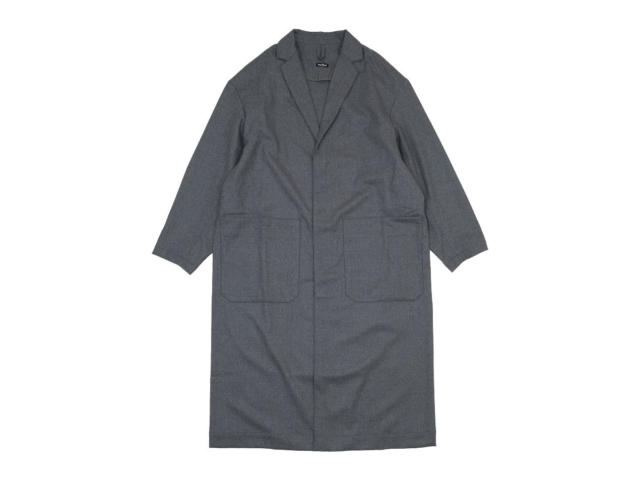 maillot mature wool labo coat GRAY