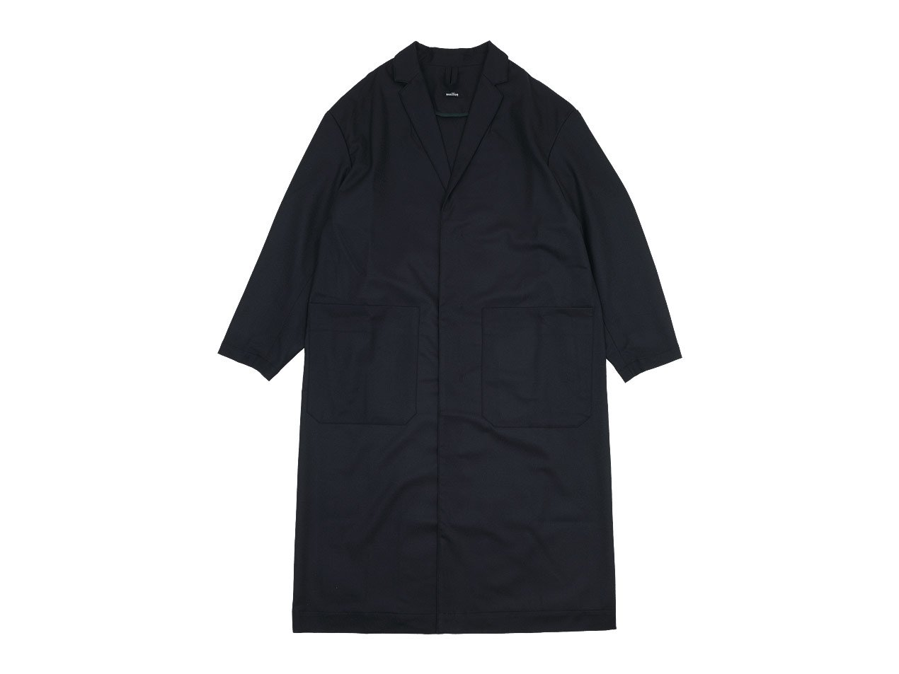 maillot mature wool labo coat NAVY