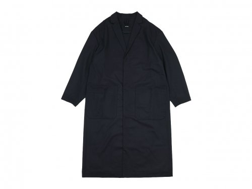 maillot mature wool labo coat NAVY