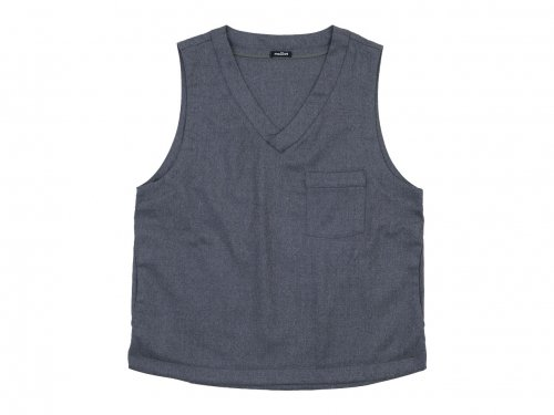 maillot mature wool labo vest GRAY
