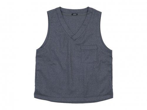 maillot mature wool labo vest GRAY
