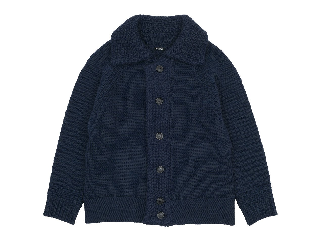 maillot mature hand frame fisherman jacket NAVY