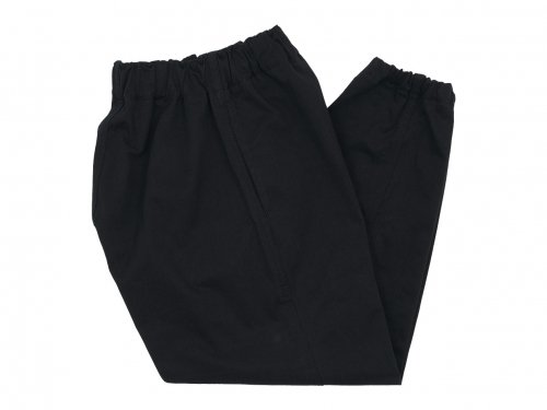 TUKI gum pants 09BLACK