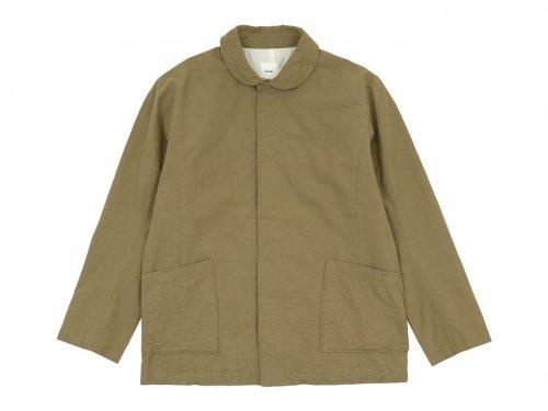 RINEN 40/2高密度平織 ガーデンジャケット 06ベージュ 〔メンズ〕